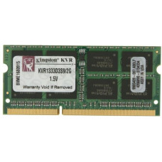 SODIMM Kingston 2GB DDR3 1333 MHz (KVR1333D3S9/2G) PC3-10600