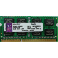 SODIMM Kingston 4GB DDR3 1333 MHz (KVR1333D3S9/4G) PC3-10600
