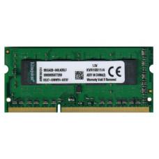 SODIMM Kingston 4GB DDR3 1600 MHz (KVR16S11/4) PC3-12800