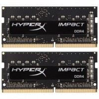 SODIMM Kingston 32 GB (2x16GB) DDR4 2666 MHz HyperX Impact (HX426S15IB2K2/32)
