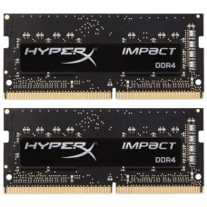 SODIMM Kingston 32 GB (2x16GB) DDR4 2666 MHz HyperX Impact (HX426S15IB2K2/32)