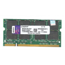 SODIMM Kingston 1GB DDR 333 MHz (KVR333X64SC25/1G) PC-2700