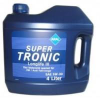 Моторное масло Aral SuperTronic Longlife III 5W-30 4л