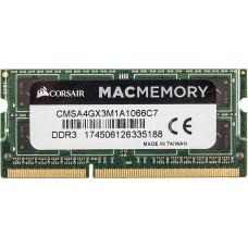 SODIMM Corsair 4 GB DDR3 1066 MHz Mac Memory (CMSA4GX3M1A1066C7)