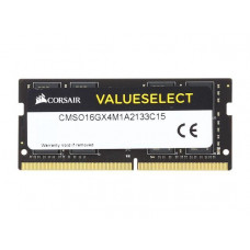 SODIMM Corsair 16 GB DDR4 2133 MHz Value Select (CMSO16GX4M1A2133C15)