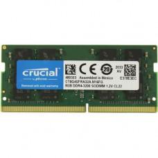 SODIMM  Crucial 8 GB DDR4 3200 MHz (CT8G4SFRA32A)
