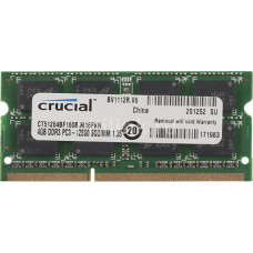 SODIMM Crucial 4 GB DDR3L 1600 MHz (CT4G3S160BMCEU) PC3L-12800