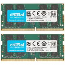 SODIMM  Crucial 32GB (2x16) DDR4  2666 MHz  (CT2K16G4SFRA266)
