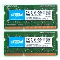 SODIMM Crucial 4 GB  DDR3L 1866 MHz (CT51264BF186DJ)