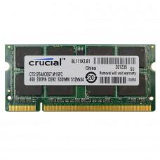 SODIMM Crucial 4GB DDR2 667 MHz (CT51264AC667).M16FC