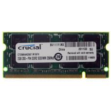 SODIMM Crucial 2 GB DDR2 667 MHz (CT25664AC667)