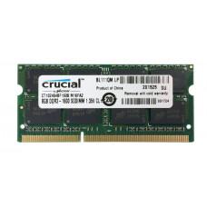 SODIMM Crucial 8 GB DDR3L 1600 MHz (CT102464BF160B)