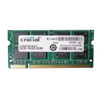 SODIMM Crucial 2 GB DDR2 800 MHz (CT25664AC800) PC2-6400