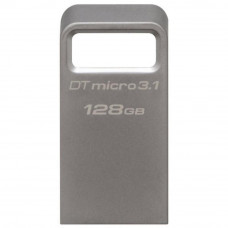 Флешка Kingston 128 GB DT Micro 3.1 Metal (DTMC3/128GB)