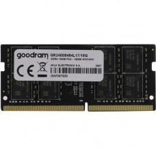 SODIMM GOODRAM 16 GB DDR4 2400 MHz (GR2400S464L17/16G)