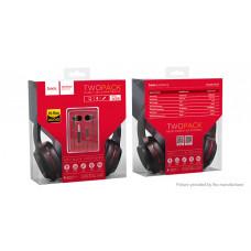 Наушники с микрофоном Hoco W2 Black