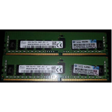 Hynix 16GB DDR4 2400 MHz (HMA82GR7MFR4N-UH) TD AC PC4-2400T ECC Registered RDIMM