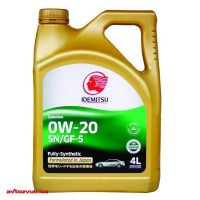 Моторное масло Idemitsu Gasoline 0W-20 SN/GF-5 4л