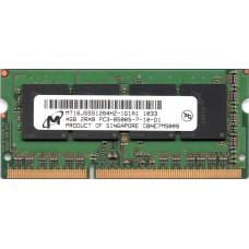 SODIMM Micron 4 GB DDR3 1066 MHz (MT16JSS51264HZ-1G1A1)