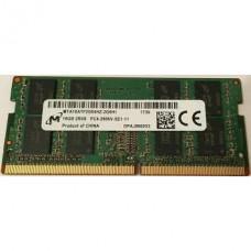 SODIMM Micron 16GB DDR4 2666 MHz MTA16ATF2G64HZ-2G6H1