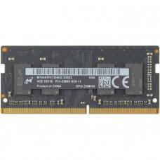 SODIMM Micron 4 GB DDR4 2666 MHz (MTA4ATF51264HZ-2G6E3)