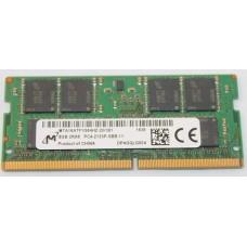 SODIMM Micron 8 GB DDR4 2133 MHz (MTA16ATF1G64HZ-2G1B1)