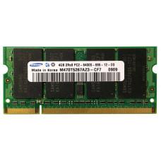 SODIMM Samsung 4 GB DDR2 800 MHZ (M470T5267AZ3-CF7) PC2-6400