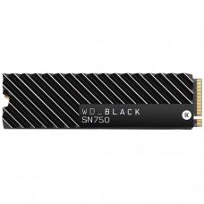 SSD накопитель WD Black SN750 NVME SSD 2 TB With Heatsink (WDS200T3XHC)